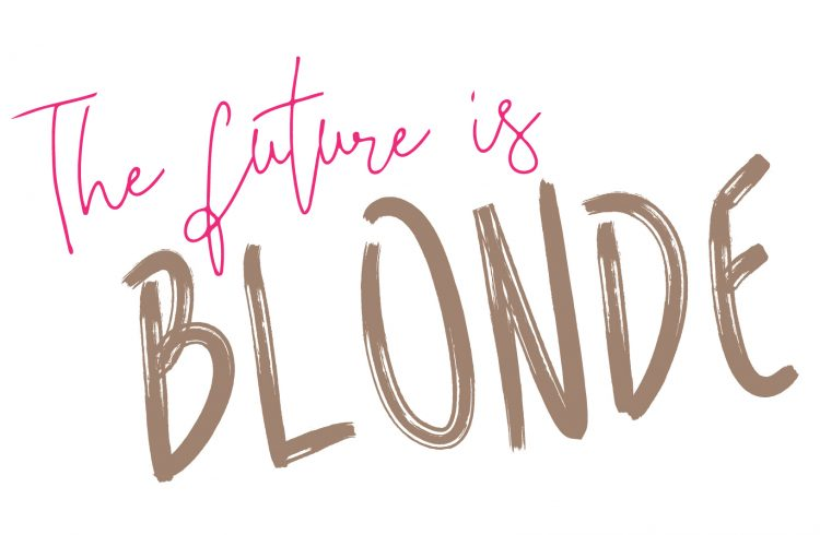 the future is blonde logo