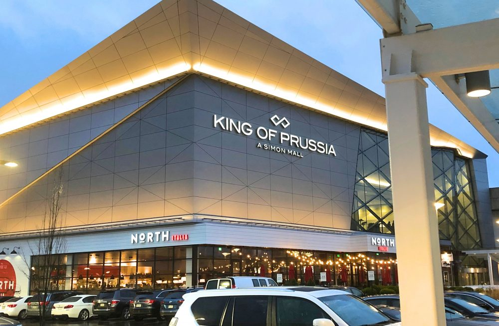 King of Prussia mall in king of prussia pa