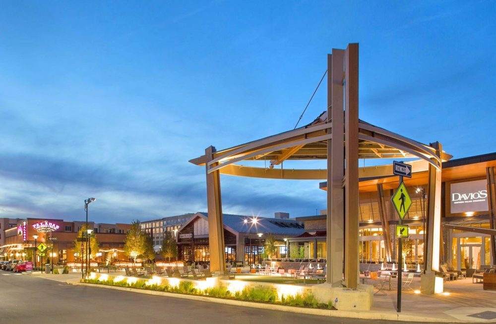 King of Prussia outdoor town center in King of Prussia PA