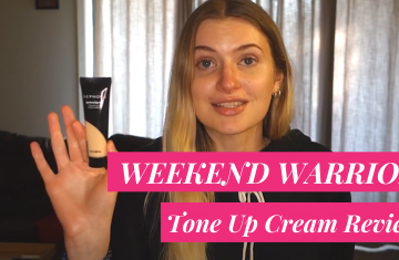 sephora weekend warrior tone up cream review