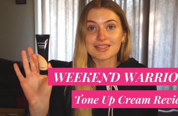 sephora weekend warrior tone up cream review
