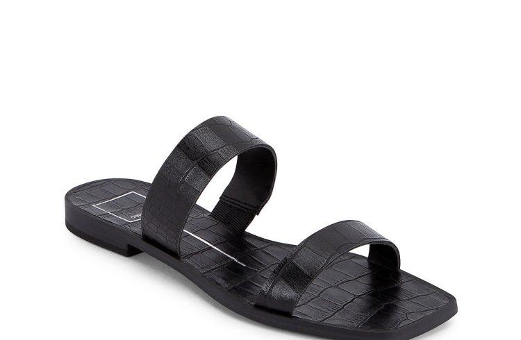 dolce vita isaac sandal in black
