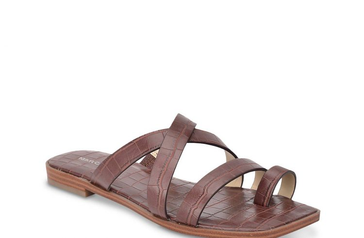 Marc Fisher arren sandal in brown